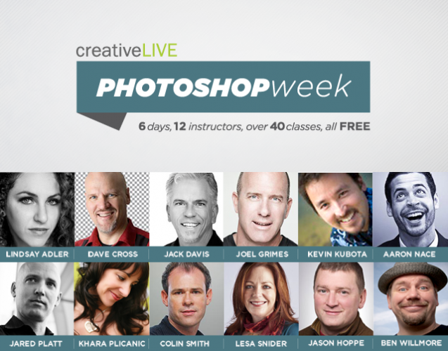 Photoshop Week instructors 2013