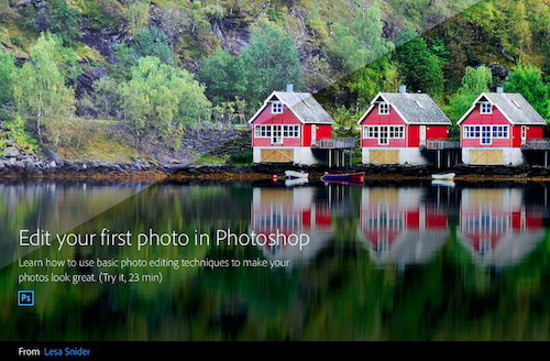 Get Started with Photoshop for Photography video series