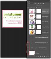 Petstumes animated GIF layers